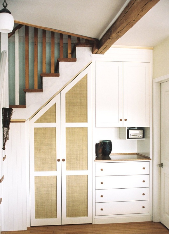 Stair Closet Amp Cabinet Dominik Back Custom Woodwork